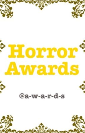 Horror Awards by a-w-a-r-d-s