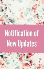 Notification Of New Updates by sonysa