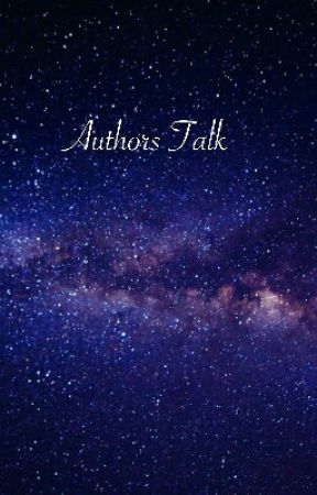 Authors Talk  by ilovereading2311
