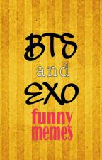 BTS-EXO Funny memes by Apollo_101