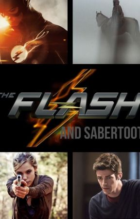 The Flash and Sabertooth by Simbuck