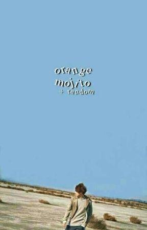 orange mojito + me. by goushi-