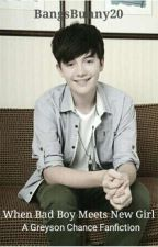 When Bad Boy Meets New Girl (Greyson Chance FanFiction) [UNDER EDITING] by YuchiiKazuto