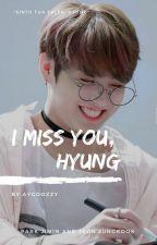 I miss you ♡ Jimin + Jungkook by jiminutive_