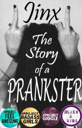 Jinx The Story Of A Prankster by anubluey