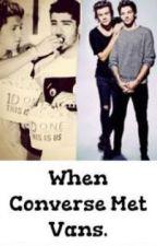 When Converse Met Vans.  (Larry/Ziall Fanfiction) by x3_fox