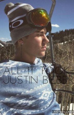 All it took - Justin bieber by Ellislett