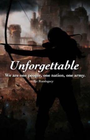 Unforgettable  by rueslegacy