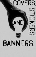 [CLOSED] Covers, Stickers, and Banners! #30DCC  by IMAMANDUH