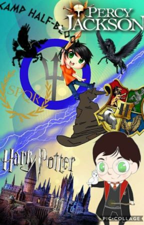 Percy Jackson Meets Harry Potter by nowposting123