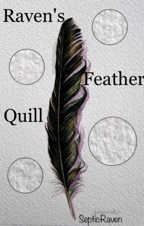 Raven's Feather Quill by SepticRaven