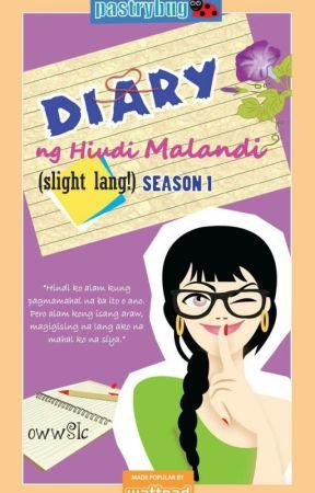 Book 1: Diary ng hindi Malandi (Slight lang!) (Mini TV series at TV5) by owwSIC