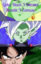Goku Black X Servant Reader X Zamasu by NanisayNani
