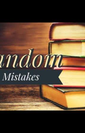 Random Mistakes by shahdxwael