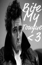 Bite My Tongue. (Josh Franceschi) by Asdfghjklpie