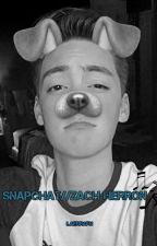 Snapchat//Zach Herron by Laerrafn