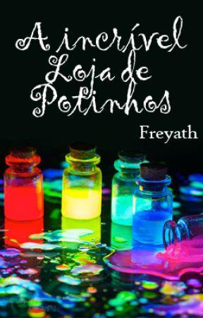 A incrível Loja de Potinhos by Freyath
