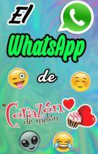 El WhatsApp de Corazón de Melón  [Screenshots] by fan-fics_cdm