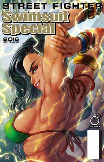 Female Street Fighter Characters Beach Swimsuit Special x Male Reader