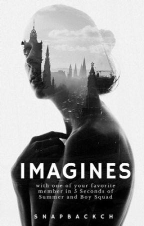 imagines; 5sos + boy squad by snapbackch