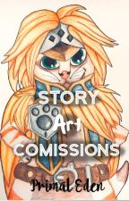 {OPEN} Story Art Commissions by primal_eden