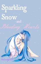 Sparkling Snow and Bleeding Hearts by TheCandyChild