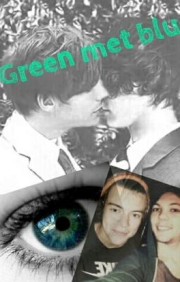 Green met blue (Larry Stylinson) AU