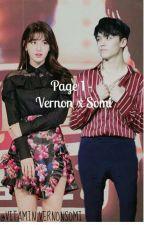 Page 1 - Vernon x Somi ✔ by wonwooreoooo