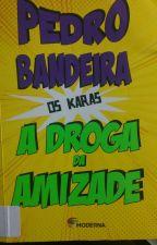 A droga da Amizade Pedro Bandeira Os Karas by JennyfferAlves6
