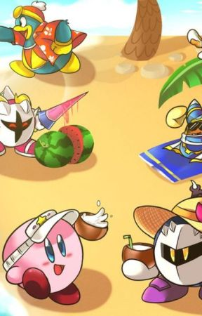 Kirby Goes to the Beach by KawaiiMimikyu