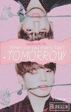 tomorrow ; taekook by blingguk
