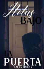 Notas bajo la puerta ~taegi~ by amymirror
