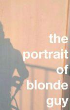 the portrait of blonde guy // narry by mhaheartmahnarreh