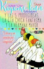 Kagami-kun y las 5 prodigiosas,la 6ta chica fantasma y la hermana mayor by KiLLP0P-