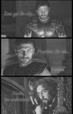 Poderes de los tres Dioses-Percy Jackson. by stupidlgl