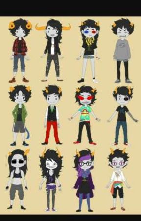ASK HOMESTUCK  by Bethgreene7