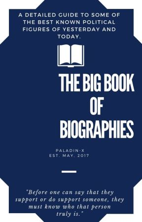 The Big Book of Biographies by Paladin-X