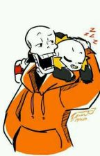 Underfell sans × underwap papyrus Fr ( honeymutarde ) by ufsans1
