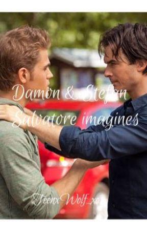 Damon & Stefan Salvatore imagines by TeenxWolf_xo