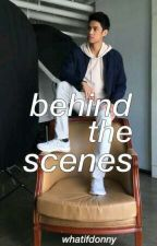 behind the scenes ; donny pangilinan by whatifdonny