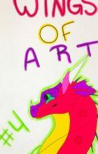 Wings of Art-Art Scroll #4 by StormTheHybrid