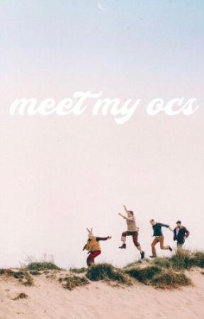 MEET MY OCS by turntan-