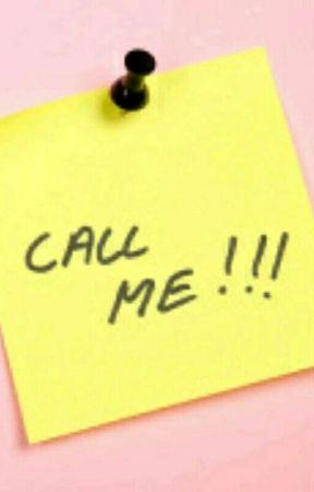 Call Me  by ilikefood30