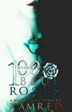 100 Blue Roses by XamRed