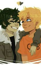 solangelo in chat by lueLuce