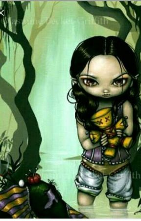 The GIRL with Voodoo Doll by DreamGanster