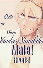 Ask or dare Yandere Simulator Male! Rivals by PixoliteArtz