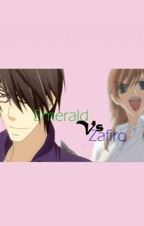 ¡Emerald VS Zafiro! by IsilethTrejo