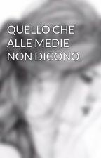 QUELLO CHE ALLE MEDIE NON DICONO  by Clockie_24