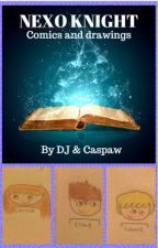 DJ and Caspaw comics - NEXO KNIGHTS - REQUESTS OPEN by GreatAndAwesomeMe